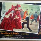 HO01 American In Paris GENE KELLY Original Lobby Card