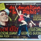 HT02 American In Paris GENE KELLY/LESLIE CARON Title Lobby Card