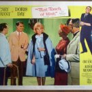 HO28 Touch Of Mink CARY GRANT/DORIS DAY Lobby Card