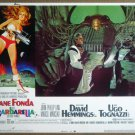 HO04 Barbarella JANE FONDA Original 1968 Lobby Card