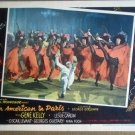HR01 American In Paris GENE KELLY Lobby Card