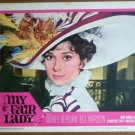 HR15 My Fair Lady AUDREY HEPBURN Portrait Lobby Card