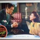 HR24 When Ladies Meet JOAN CRAWFORD Lobby Card