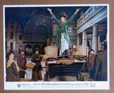 HS14 My Fair Lady AUDREY HEPBURN Color Studio Still