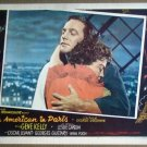 HT03 American In Paris GENE KELLY/LESLIE CARON Portrait Lobby Card
