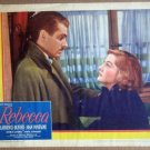 HT20 Rebecca LAURENCE OLIVIER/JOAN FONTAINE  Lobby Card