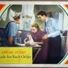 HU25 Made For Each Other CAROLE LOMBARD 1939 Lobby Card