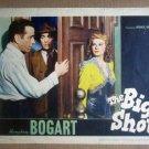 HW09 Big Shot HUMPHREY BOGART/IRENE MANNING Lobby Card