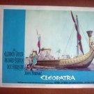 IB08 Cleopatra ELIZABETH TAYLOR Original Lobby Card
