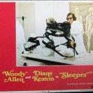 XY101 SLEEPER   Woody Allen original 1973 lobby card