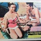 XY115  STORY OF ESTHER COSTELLO Rossano Brazzo  original 1957 lobby card