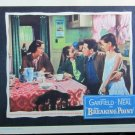 XY117 BREAKING POINT Patricia Neal / John Garfield  original 1950 lobby card