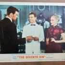 XY19 SEVENTH SIN  Eleanor Parker  original 1950 lobby card