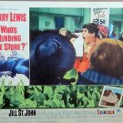 XY25 WHO'S MINDING THE STORE  Jerry Lewis   original  1963 lobby card