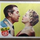 XY32 LIFE OF HER OWN   Lana Turner  fabulous portrait original 1953  lobby card