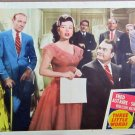 XY37 THREE LITTLE WORDS Fred Astaire / Red Skelton  original 1950 lobby card