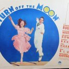 XY41 TURN OFF THE MOON  Charlie Ruggles   original 1937 lobby card