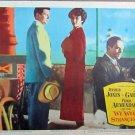 XY59 WE WERE STRANGERS  Jennifer Jones original  1943 lobby card