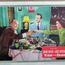 XY66  KISS IN THE DARK Jane Wyman and David Niven  original 1949 lobby card