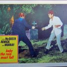 XY74 BABY THE RAIN MUST FALL Steve McQueen original 1965 lobby card