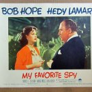 XY79 MY FAVORITE SPY  Hedy Lamarr  original  1951  lobby card