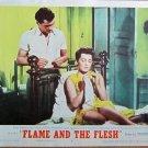 XY90 FLAME AND THE FLESH   Lana Turner  original  1954  lobby card