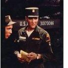 G.I. BLUES (1961) Elvis Presley rare orig color still taken by film crew GBL118