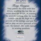 1997 Studio Master Strokes Jumbo Executive Promo/Sample Tony Gwynn XXXX/5000 Masterstrokes