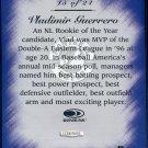 1997 Studio Master Strokes Jumbo Executive Promo/Sample Vladimir Guerrero XXXX/5000 Masterstrokes