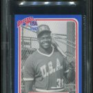 1987 BDK Pan Am Blue Team USA Frank Thomas #36 BGS 9 Mint