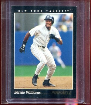 1993 Pinnacle Sample Promo Bernie Williams #7 New York Yankees
