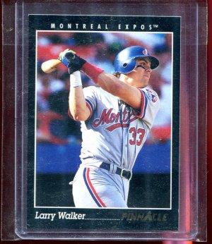 1993 Pinnacle Sample Promo Larry Walker #3