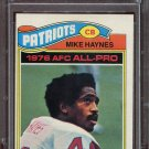 1977 Topps Football Mike Haynes #50 PSA 9 (OC) equals PSA 7