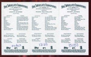 2009 Allen and Ginter No Number Mini Lot: Jason Giambi, Mark Reynolds, Adam Jones /50