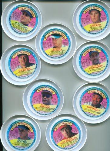 1999 FroZsnack's High Screamers lid Fernando Vina - Milwaukee Brewers - green