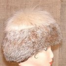 Canadian Lynx Vintage Fur Hat Not Endangered Beautiful