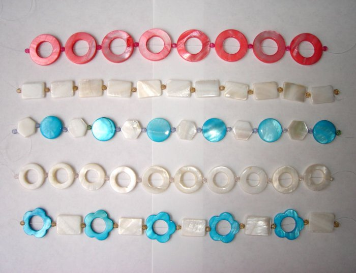 Free Shipping 10 strings/lot  Mother of pearl beads (Large)
