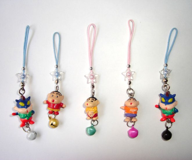 Free Shipping  5 pcs/lot Cute Doll & Metal Bell Chinese lucky Knots
