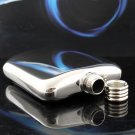 Free Shipping 3 pcs/lot Classical designed stainless steel hip flask  6 oz