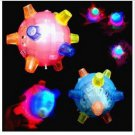 Free Shipping---Flashing Jumping Ball  10 pcs/lot