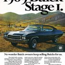 """1969 Buick GS Stage 1 Ad Digitized & Re-mastered Print """" Owners Keep Selling Buicks For Us"""" 18""""x24"""""""