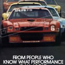 """1979 Camaro Z/28 Ad Digitized & Re-mastered Poster Print """"International Race of Champions"""" 18"""" x 24"""""""