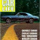"1967 Camaro November 1966 Car Life Cover Ad Digitized & Re-mastered Poster Print 18"" x 24"""