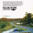 "1968 Chevelle SS Ad Digitized & Re-mastered Print ""It'd be a Big Mover on Looks Alone"" 18"" x 24"""