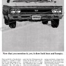 "1966 Chevelle SS Ad Digitized & Re-mastered Poster Print ""Yes It Does Look Lean and Hungry"" 18""x24"""