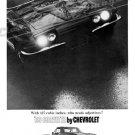 "1966 Chevrolet Corvette Stingray Ad Digitized & Re-mastered Print ""Who Needs Adjectives?"" 18"" x 24"""