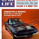 "1963 Corvette Stingray Ad Digitized & Re-mastered Poster Print Car Life Magazine Cover 18"" x 24"""