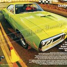 "1970 Dodge Super Bee Ad Digitized & Re-mastered Poster Print ""New Lower Price"" 18"" x 24"""