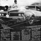 """1969 Oldsmobile 442 Ad Digitized & Re-mastered Poster Print """"Don't Throw Away the Lumber"""" 16"""" x 24"""""""