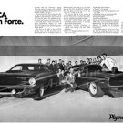 "1970 Plymouth AAR 'Cuda Ad Digitized & Re-mastered Poster Print ""Our SCCA Invasion Force"" 16"" x 24"""